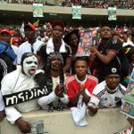 #FinalFarewell RT @OG_Molefe: Some of Orlando Pirates die hard fans made the trip to DBN for #SenzoMeyiwa funeral. http://t.co/45ePjQNvzG