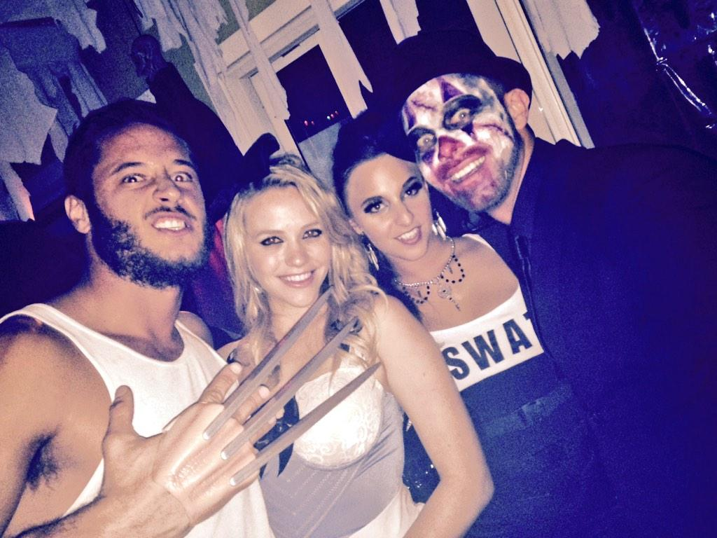 Seth Gamble (@SethGamblexxx): @DannyMountain10 @MiaMalkova @AmirahAdaraxxx Workin it at the mans @shylarcobi party http://t.co/tNMPI3xZ5v