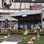 """#RIPSenzoMeyiwa """"@DrumMagazine: The stage is ready at Moses Mabhida stadium. #SenzoMeyiwa http://t.co/1N3144QwjZ"""""""