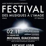 3e Festival des Musiques à lImage 1er-2 nov #Paris via @allocine + Infos >> http://t.co/PM07R6dYt7 http://t.co/0PWNUR0tJU