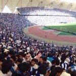 لأول مره بالتاريخ نادي يطلب من جمهوره عدم الحضور بسبب امتلاء الملعب قبل اللقاء بأكثر من 5 ساعات يارب توفيقك #الهلال http://t.co/FbKKzyl4zi