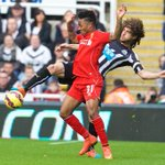 PHOTO: @sterling31 in action for #LFC at Newcastle http://t.co/lpvjoVc1pn
