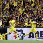 Dickson Nwakaeme scores the first goal for Pahang. Pahang leads 1-0 against JDT in the #MalaysiaCup final. http://t.co/Fa2Pj6sjih