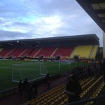The new East Stand at #WatfordFCs Vicarage Road is almost there #FourSidedGround http://t.co/ud9DHg7rkW