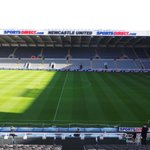The scene at St James Park ahead of todays lunchtime kick-off for #LFC. http://t.co/C0I9Rom0Sc