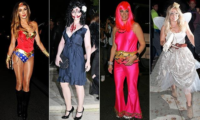 Need a Halloween costume? These celebs could give you some inspiration...