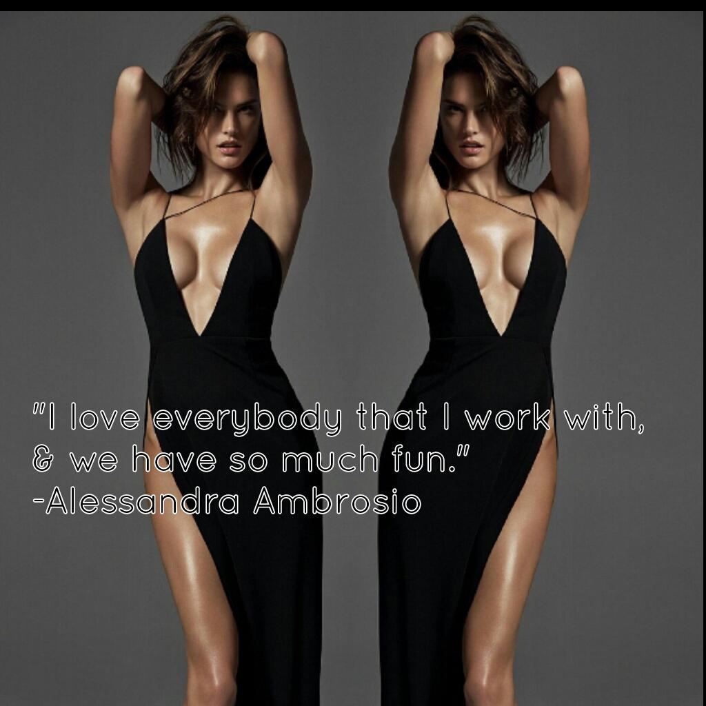 @AngelAlessandra  #alessandraambrosio #supermodel #fashion http://t.co/F63gXTm4F3