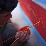 @UNICEFiraq sponsored a project to decorate buildings in 5 camps. #Syria #refugee #children  https://t.co/6TVkWczMY6 http://t.co/DWLYY1eDkA