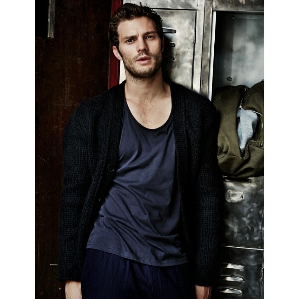 *SPOILER ALERT* Sneek peek at #JamieDornan shoot in @ObsMagazine tomorrow (2nd Nov 2014) ph: Alex Bramall http://t.co/42eQaoDdSA