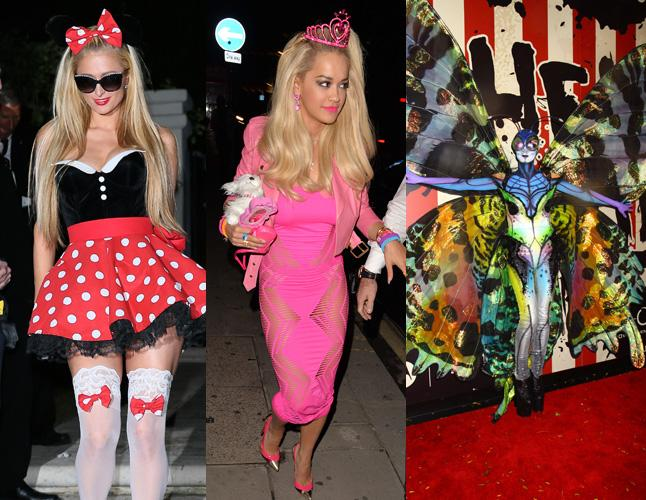 Top 14 best celebrity costumes of Halloween 2014