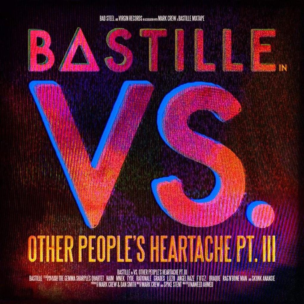 I've done a song with @bastilledan & @AngelHaze on their amazing new album. It's called 'WEAPON' order on iTunes now! http://t.co/M7xoCP1128