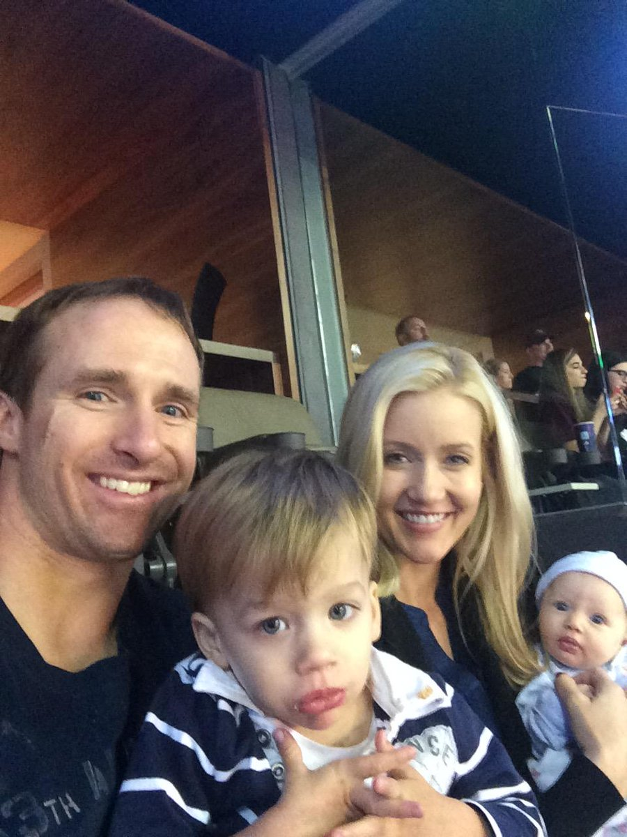 Drew Brees Family Brees Family e Drew Brees