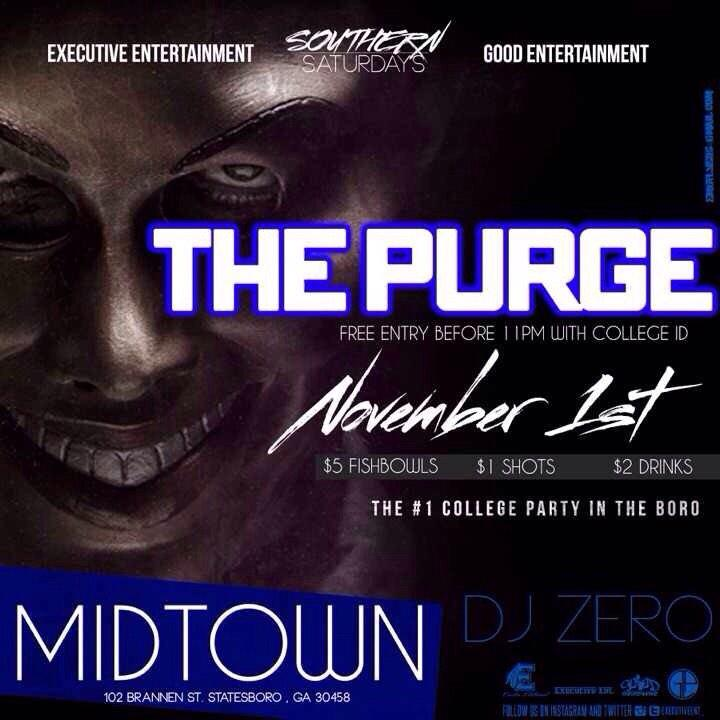 Come out and support The Purge free before 11 with college id, meet us there! http://t.co/MX4EHt8iie