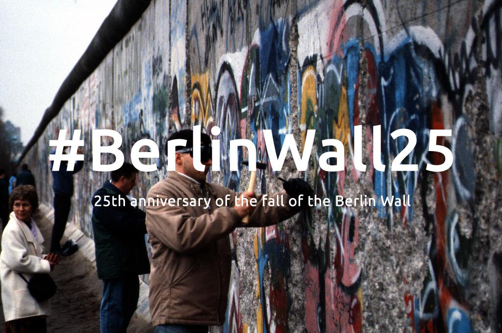 25 years ago today, #Berlin was reunited. Explore @Europeana1989:  http://t.co/lIruNxsA3a #BerlinWall25 #Fotw25 http://t.co/6Cmr6hVddk