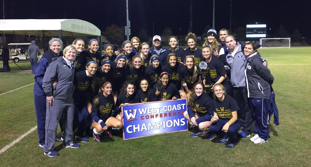 WSOC | Congratulations to @byusoccer_w the 2014 #WCC Champions. Third straight title for the Cougars. http://t.co/JL5gMcy6MP