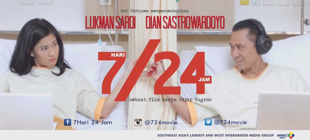 25 hari lagi akan release di bioskop!! Bismillah!! @therealDiSastr @lukmansardi @fajarnugros @724Movie @MNC_Pictures http://t.co/EUL2s7SnHr