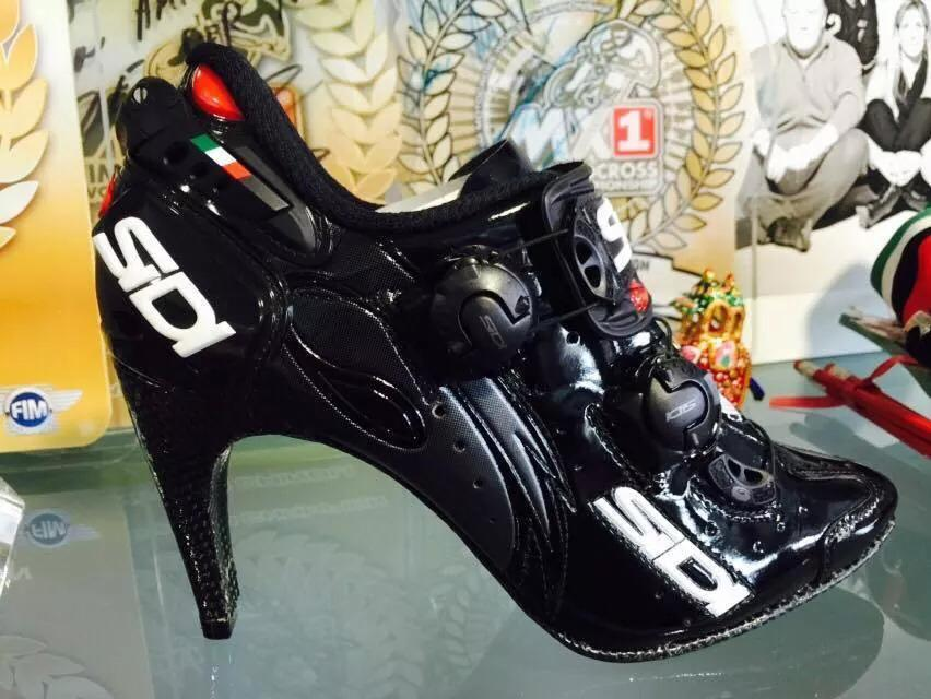 a wardrobe staple for sure  RT @SigmaSport: No excuses not to ride back from the party in these! @SidiSport http://t.co/oFY4qp60yR