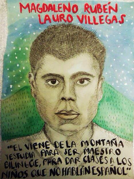 36. Magdaleno Rubén Lauro Villegas http://t.co/7oyoiisKEa #Ayotzinapa #NormalistasDeAyotzinapa http://t.co/7qUdut43Fv