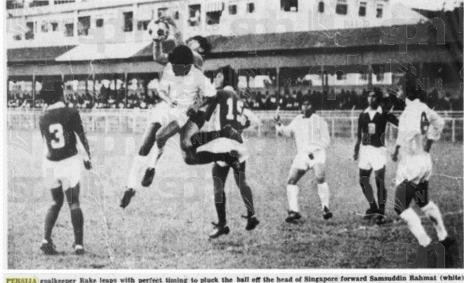 Persija beat singapore 2-0 at jalan besar , feb 26 1974 http://t.co/EFUgaN0Rka