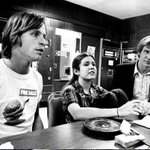 RT @Live_for_Films: Mark, Carrie and Harrison #starwars