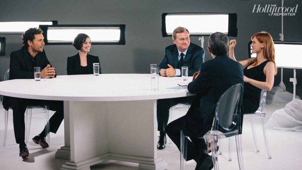 Watch @THR's Interstellar discussion with Christopher Nolan & stars now on @ThirteenNY