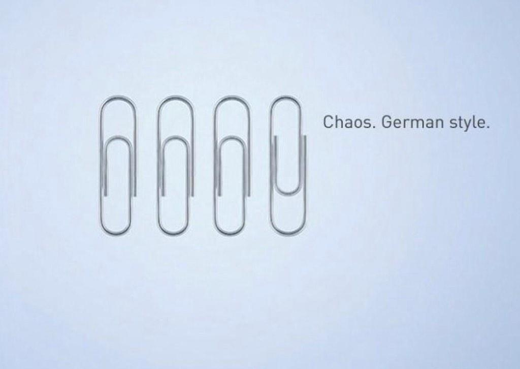 <3 RT @marcoschreuder: Chaos. German Style. http://t.co/uEYVPYBSYC
