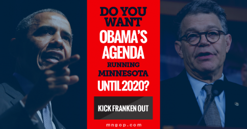 Don't let Obama's failed agenda hurt MN for 6 more years. Kick out @alfranken: http://t.co/ZvRo89U3vW #mngop http://t.co/HxlcTb7gfw