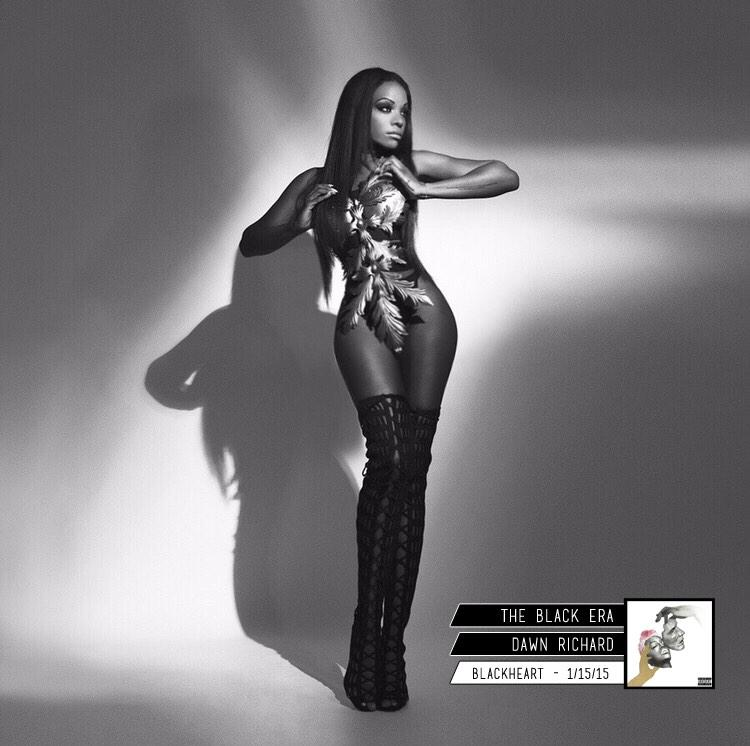 @DawnRichard / #BLACKHEART 1/15/15 http://t.co/yINy8nij9m