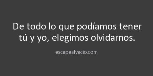 Olvidarnos. http://t.co/RO3vQQrHS0