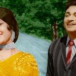 Kannada matinee idol Dr Rajkumar's classic hit #Kasturi Nivasa releases in color version this week! http://t.co/bMM7abGNNC