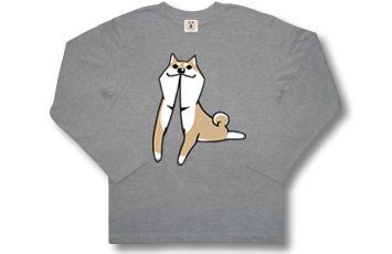 【悪意1000%Tシャツ情報】漫画「いとしのムーコ」公式Tシャツ『ぴー』長袖版!カラーは着回ししやすいMIXグレー、ポリ