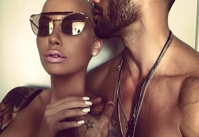 Breaking: You won't BELIEVE who Amber Rose is dating after her split from Wiz Khalifa