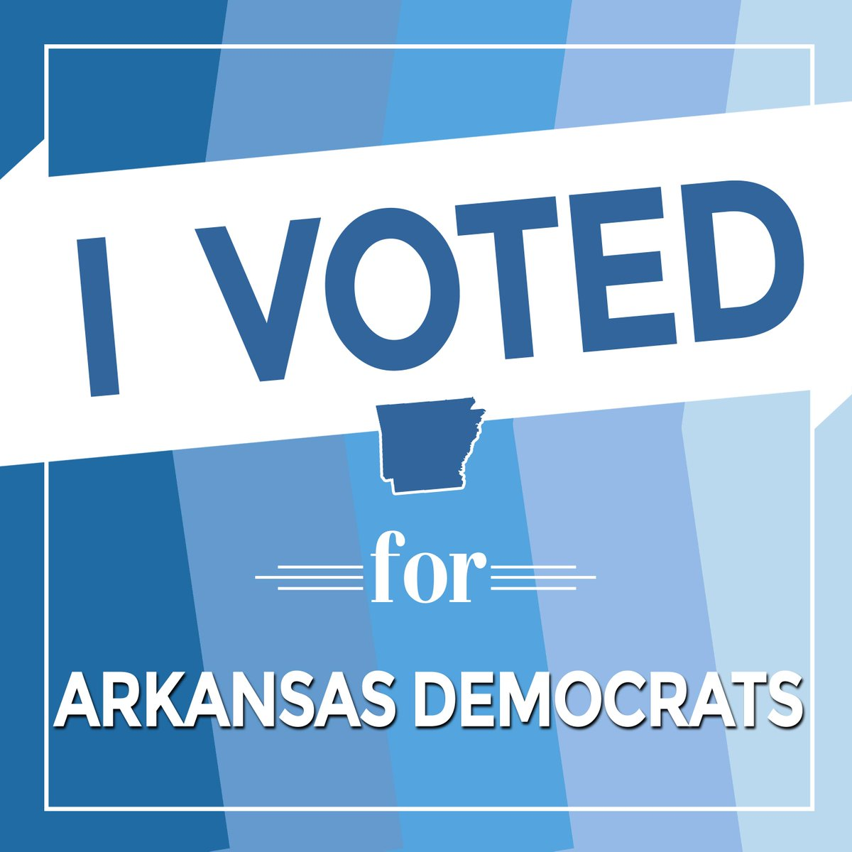 Polls are open! Vote now until 7:30 pm for @ArkDems and challenge 3 of your friends to do the same! #arpx http://t.co/UCm2I4hKuJ