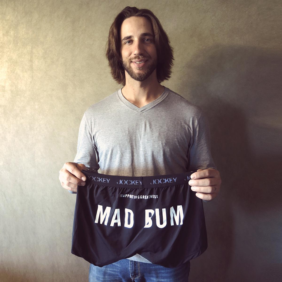 We support great athletes, great underwear & athletes with great underwear nicknames. #MadBum #SupportingGreatness http://t.co/zdXm8tt5H4