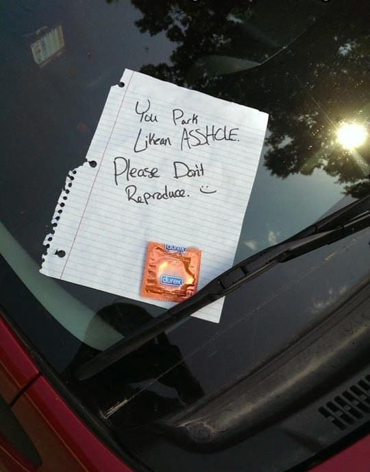 29 Passive-Aggressive Windshield Notes That Forgot How To Passive http://t.co/fCYyAPmiEY via @simoncrerar @buzzfeed http://t.co/OWUO3HtSWo