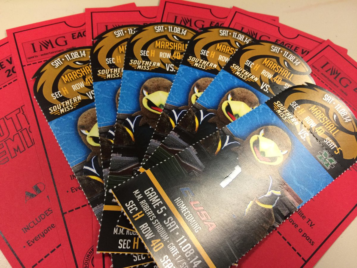 Are you a Golden Eagle fan? Follow & RT to win tickets & VIP passes to @SouthernMissFB's Homecoming on 11/8. #SMTTT http://t.co/JpWqiizc2s