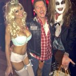 Her purse was not supposed to be part of my demon costume @DavidSpade @MinnieGupta @treatsmagazine #trickortreats http://t.co/pSqkrLq5G8