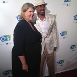 #NickCannon and @Karenchup11 hanging at the @intlCES LA event #CES2015