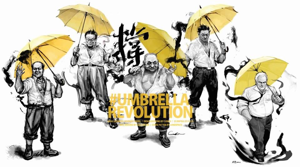 干得漂亮RT @laoyang945: 胡主席就这样被忽视了 RT @manjyukatsuki https://t.co/W0rjR55Bv9 なんか本当にかっこよすぎるww #UmbrellaRevolution http://t.co/sxfZwjpluf