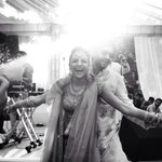 And then we danced. Coz life is good if you're lucky enough to marry your best friend