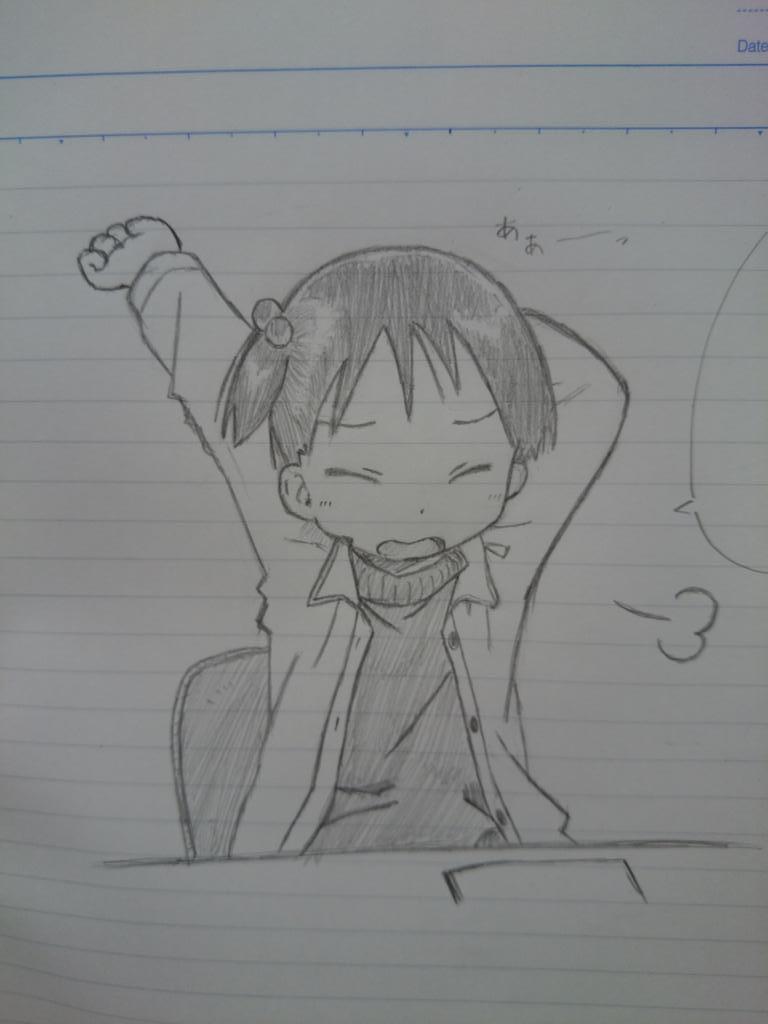 宿題終わったちぃちゃん http://t.co/RpeiKlWy1u