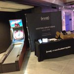 We're here in #NYC at #FOWD - Come by our table and play Skeeball for a chance to win some fun stuff! *DJ http://t.co/QaL6ysH1Po
