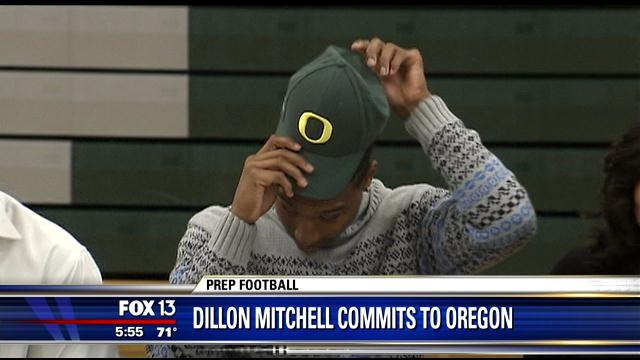 Dillon Mitchell of @WhiteStationFB verbally commits to Oregon ... http://t.co/29ODGXblaJ (ta) http://t.co/7Pln6ZtFFz
