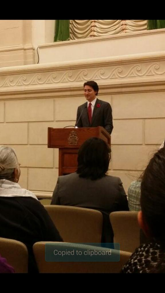 Trudeau speaking at Parliament Hill.  Asks Indian government to hold those responsible for 1984 accountable. http://t.co/CpbXVMG9zW
