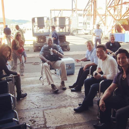 #h50 100th episode this Friday!#SangMinMulletLives @HawaiiFive0CBS http://t.co/IJmGA0S0mb