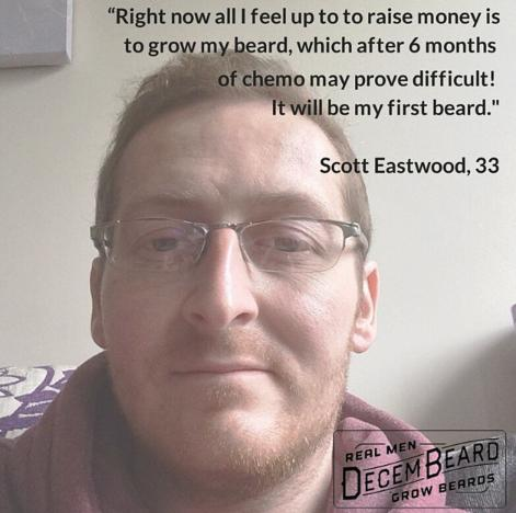Amazing man... Fighting Bowel Cancer and supporting @Decembeard_UK. Get behind him and pls RT http://t.co/1PTquF5OP5