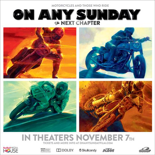#OnAnySunday is hitting theaters THIS Friday. Find showtimes: http://t.co/CeTJrovoc2 http://t.co/egbKpOO9Ce