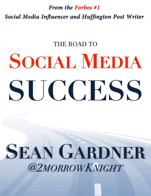 """Congrats go out to @2morrowknight on his first book """"The Road To #SocialMedia Success""""! http://t.co/uP7FkXvBNm http://t.co/dIQn97IBdn"""