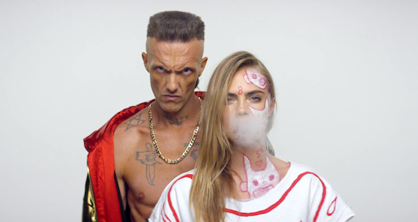 Have you seen @DieAntwoord's #UglyBoy ft. @CaraDelevingne & @MarilynManson+more? Watch: http://t.co/Bsjt9WsL3d http://t.co/jWoHPPgDrT
