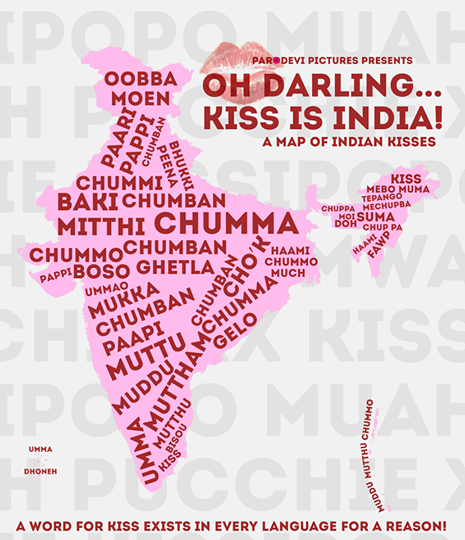 There's a word for 'kiss' in every Indian language - just in case anyone thought it was a western influence: http://t.co/JC293wDmDs